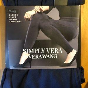 Vera wang leggings